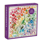 Rainbow Ornaments 500 Piece Puzzle Cover Image