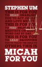 Micah for You: Acting Justly, Loving Mercy (God's Word for You) Cover Image
