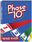 Phase 10 Score Sheets: Phase Ten Dice Game Record Keeper Book, Phase 10 Dice Game Cover Image