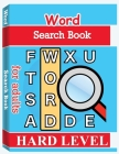 Word Search Books for Adults - Hard Level: Word Search Puzzle Books for Adults, Large Print Word Search, Vocabulary Builder, Word Puzzles for Adults Cover Image