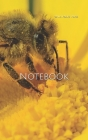 Notebook: bee yellow insect flower bees sunflower apiarist beekeeping Cover Image