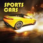 Sports Cars Calendar 2018: 16 Month Calendar Cover Image