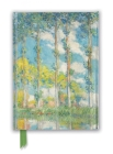 Claude Monet: The Poplars (Foiled Journal) (Flame Tree Notebooks) Cover Image