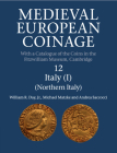 Medieval European Coinage: Volume 12, Northern Italy Cover Image