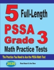 5 Full-Length PSSA Grade 3 Math Practice Tests: The Practice You Need to Ace the PSSA Math Test Cover Image