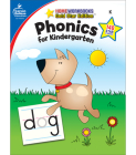 Phonics for Kindergarten, Grade K: Gold Star Edition (Home Workbooks) Cover Image