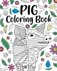 Pig Coloring Book Cover Image