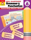 Skill Sharpeners Grammar and Punctuation, Grade 6 Cover Image