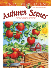 Creative Haven Autumn Scenes Coloring Book (Adult Coloring) Cover Image