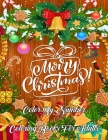 Merry Christmas Color By Number Coloring Books For Adults: Creative Haven Christmas Color By Numbers Book Featuring Beautiful Winter Florals, Festive Cover Image