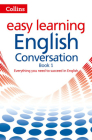 Collins Easy Learning English - Easy Learning English Conversation: Book 1 Cover Image