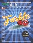 Let's Have A FARKLE Party!: V.2 Farkle Score Sheets 100 pages for Farkle Classic Dice Game - Nice Obvious Text - Large size 8.5*11 inch (Gift) Cover Image