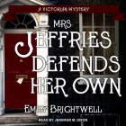 Mrs. Jeffries Defends Her Own Cover Image