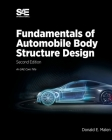 Fundamentals of Automobile Body Structure Design, 2nd Edition Cover Image