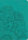 NVI Biblia Compacta Letra Grande aqua, símil piel con índice Cover Image