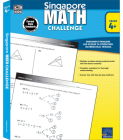 Singapore Math Challenge, Grades 4 - 6 Cover Image
