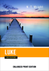 Luke for Everyone (Enlarged Print) (New Testament for Everyone) Cover Image