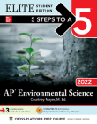 5 Steps to a 5: AP Environmental Science 2022 Elite Student Edition Cover Image