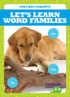 Let's Learn Word Families Cover Image