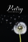 Poetry Journal: One Poem a Day Can Make you Happier - Track Your Daily Poems - Blank Poetry LogBook! Cover Image