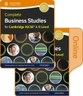 Complete Business Studies for Cambridge Igcse and O Level Print & Online Student Book Cover Image