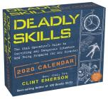 Deadly Skills 2020 Day-to-Day Calendar Cover Image