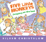 Five Little Monkeys Jumping on the Bed (Padded Board Book) (A Five Little Monkeys Story) Cover Image
