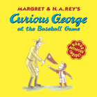Curious George at the Baseball Game Cover Image