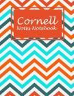 Cornell Notes Notebook: Colorful Book, Note Taking Notebook, Cornell Note Taking System Book, US Letter 120 Pages Large Size 8.5