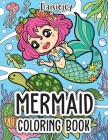 Mermaid Coloring Book: Beautiful Mermaid Coloring Books for Girls - Under The Sea (US VERSION) Cover Image