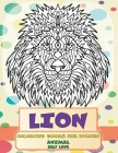 Self Love Coloring Books for Women - Animal - Lion Cover Image