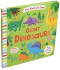 First Facts and Flaps: Giant Dinosaurs Cover Image