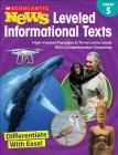 Scholastic News Leveled Informational Texts: Grade 5: High-Interest Passages at Three Lexile Levels With Comprehension Questions Cover Image