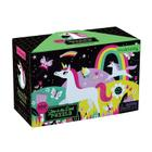 Unicorns Glow-in-the-Dark Puzzle Cover Image