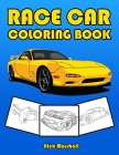 Race Car Coloring Book: Car Coloring Books for Kids Ages 4-8 Cover Image