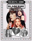 Blackpink Lines Spirals Hearts Coloring Book Cover Image