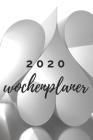 Wochenplaner 2020: Modernes Cover Design Herzen, Jahr 2020, Wochenansicht auf 2 Seiten, Größe 15,24 cm x 22,86 cm Cover Image