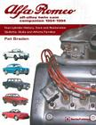 Alfa Romeo All-Alloy Twin CAM Companion, 1954-1994: Four-Cylinder History, Care, and Restoration: Giulietta, Giulia, and Alfetta Families Cover Image