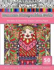 Coloring Books for Grownups Russian Matryoshka Dolls: Mandalas & Geometric Coloring Pages Anti-Stress Art Therapy Books Cover Image