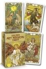 Golden Art Nouveau Tarot Mini Cover Image