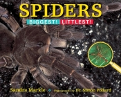 Spiders: Biggest! Littlest! Cover Image