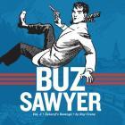 Buz Sawyer, Book 4: Zazarof's Revenge (Roy Crane's Buz Sawyer) Cover Image