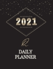 Daily Planner 2021: To Do List Notebook planner 2021 for women Yearly Planner 2021- The Five Minute Journal Cover Image