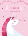 Einhorn Kinder Valentinstag Malbuch: Bestes Geschenkbuch für Kinder, Jungen und Mädchen. Cover Image