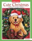 Cute Christmas Holiday Coloring Book Cover Image