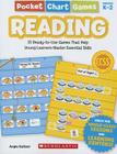 Pocket Chart Games: Reading: 15 Ready-To-Use Games That Help Young Learners Master Essential Skills Cover Image
