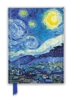 Vincent Van Gogh: Starry Night (Foiled Journal) (Flame Tree Notebooks) Cover Image