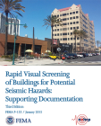 Rapid Visual Screening of Buildings for Potential Seismic Hazards: Supporting Documentation Cover Image