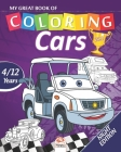 My great book of coloring - cars - Night edition: Coloring Book For Children 4 to 12 Years - 54 Drawings - 2 books in 1 Cover Image