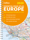 2020 Collins Essential Road Atlas Europe Cover Image
